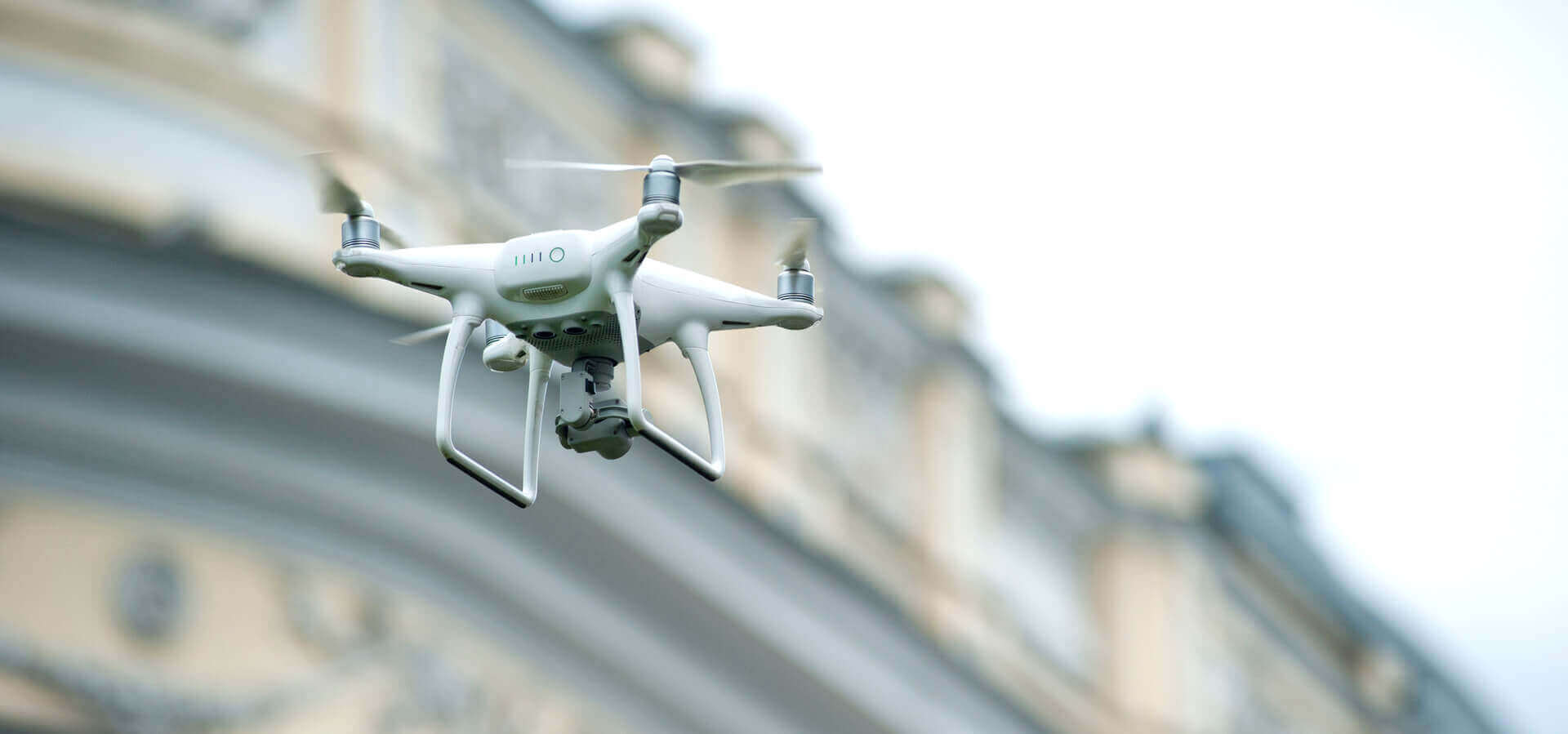 Iron Background Drone